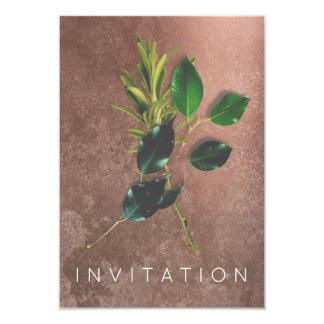 Sucio orgánico del cocinero de las especias del invitación 8,9 x 12,7 cm