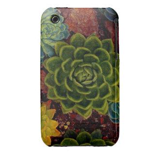 Suculento Case-Mate iPhone 3 Carcasas