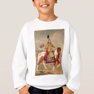 Sudadera 乾隆帝 del emperador de Qianlong de China en armadura