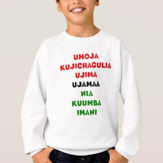 Sudadera 7 principios de Kwanzaa