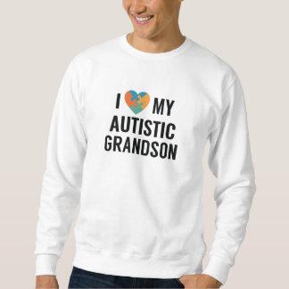 Sudadera Amo a mi nieto autístico