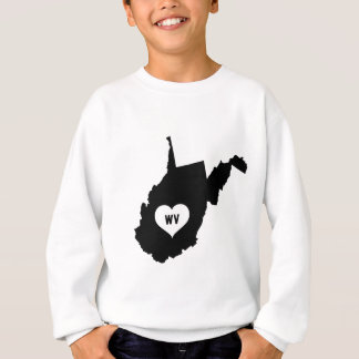 Sudadera Amor de Virginia Occidental