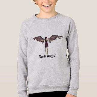Sudadera ángel oscuro