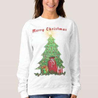 Sudadera Árbol de navidad y presentes