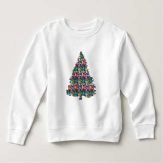 Sudadera Árbol tachonado GEMA de Navidad:  Felices Navidad