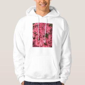 Sudadera Arbusto floreciente rosado brillante