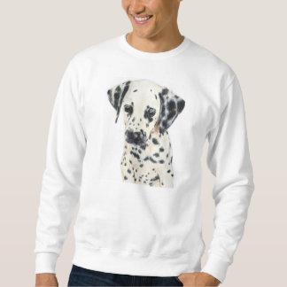 Sudadera Arte dálmata del perro