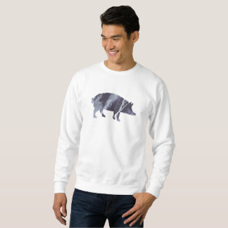 Sudadera Arte del cerdo