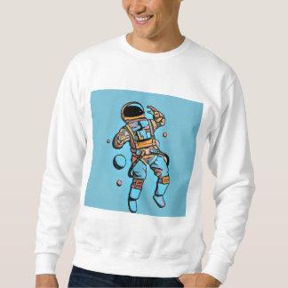 Sudadera Azul del hombre del espacio