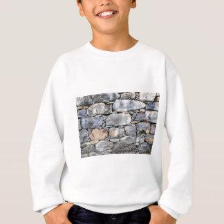 Sudadera Backgound de piedras naturales como pared