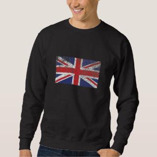 Sudadera Bandera BRITÁNICA rústica