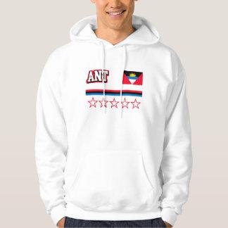 Sudadera Bandera de Antigua y de Barbuda