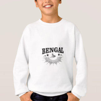 Sudadera Bengala que se sienta