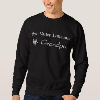 Sudadera Bordada Abuelo del Lutheran del valle del Fox