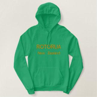 Sudadera Bordada Con Capucha Rotorua, Nueva Zelanda