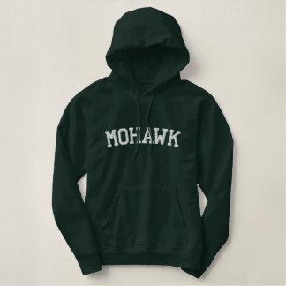 Sudadera Bordada Con Capucha Tribu del indio del Mohawk