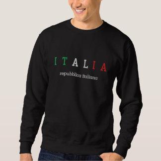 Sudadera Bordada ITALIA (Italia), italiana de Repubblica