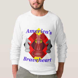 Sudadera Braveheart de América - cobalto
