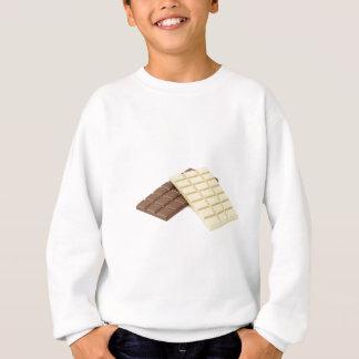 Sudadera Brown y barras de chocolate blancas