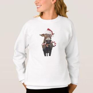 Sudadera Burro del navidad - burro de santa - burro santa