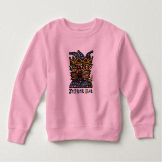 """Sudadera """"Camiseta del niño del Kat del bufón"""""""