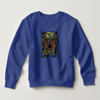 """Sudadera """"Camiseta del niño del Kat del ronco"""""""