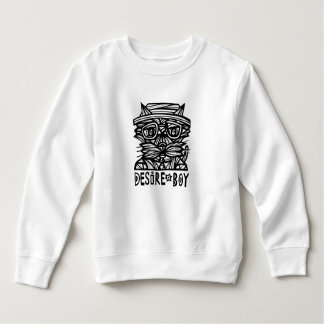 """Sudadera """"Camiseta del niño del muchacho del deseo"""""""