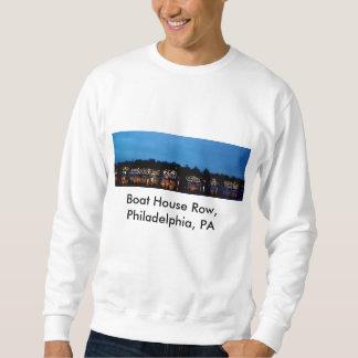 Sudadera Camiseta… Fila de la casa barco, Philadelphia, PA