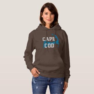 "Sudadera Cape Cod Massachusetts ""estilo de la universidad """