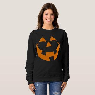 Sudadera Cara de la calabaza de Halloween