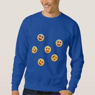 Sudadera caras felices de las galletas