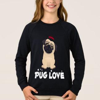 Sudadera Chicas del dibujo animado del perro de perrito del