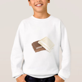 Sudadera Chocolate blanco y marrón