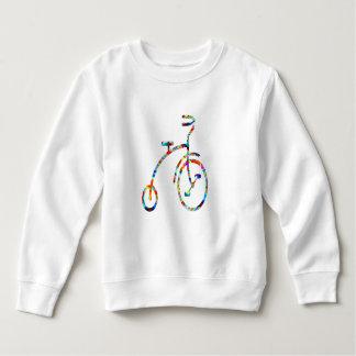 Sudadera CICLO:  Ejercicio, juegos, aptitud, bicicleta