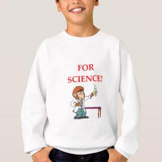 Sudadera científico enojado