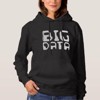 Sudadera Científico grande de los datos