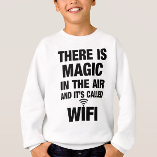 Sudadera Cita mágica de Wifi