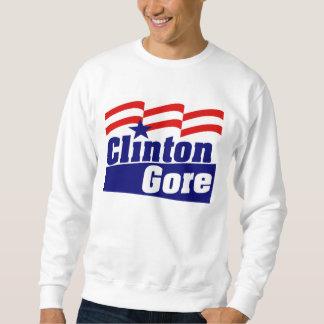 Sudadera Clinton Gore para el presidente 1992