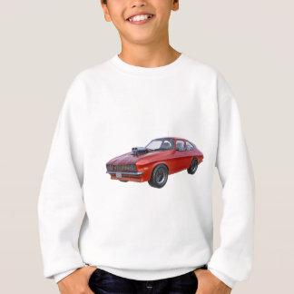 Sudadera coche rojo del músculo de los años 70