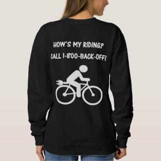 """Sudadera """"Cómo está mi montar a caballo?"""" jerseys de ciclo"""