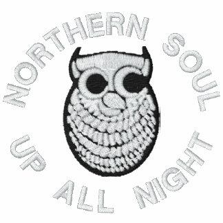 Sudadera con capucha bordada alma septentrional