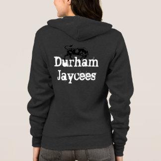 Sudadera con capucha de Durham Jaycee de la mujer