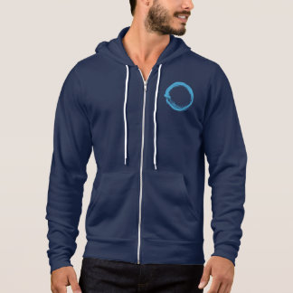 Sudadera con capucha de ENSO en azul