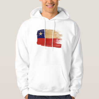 Sudadera con capucha de la bandera de Chile