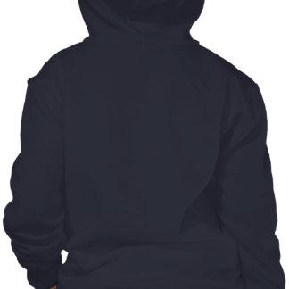 Sudadera con capucha de la cremallera del frente d