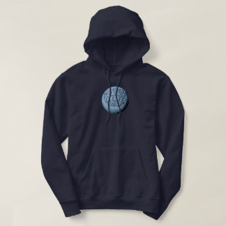 Sudadera con capucha de la luna de MST3K (azules