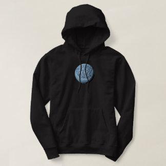 Sudadera con capucha de la luna de MST3K (negro)