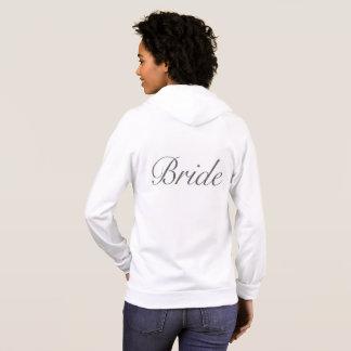 Sudadera con capucha de la novia