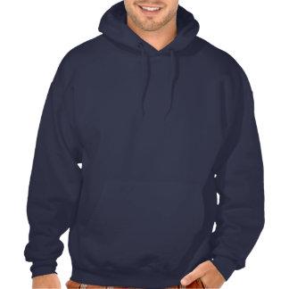 Sudadera con capucha de los azules marinos de Jump