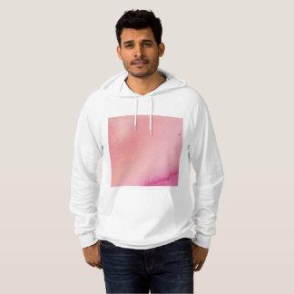 Sudadera con capucha de mármol rosada
